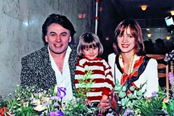 Елена Стебенёва в молодости со своим мужем фото