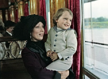 Инна Чурикова с сыном Иваном