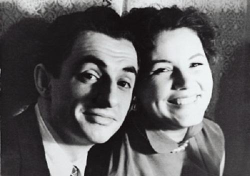 Марк Захаров с женой Ниной Лапшиновой в молодости