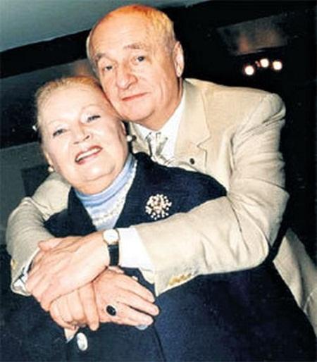 Марк Захаров с супругой фото