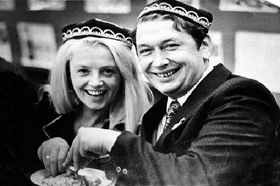 Наталья Кустинская с третьим мужем Борисом Егоровым