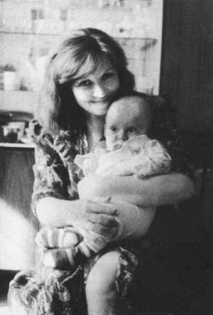 Светлана Карпинская с дочкой