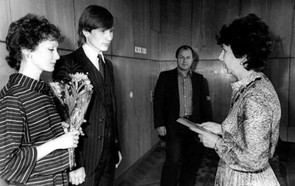 Александр Малинин со второй женой Ольгой Зарубиной