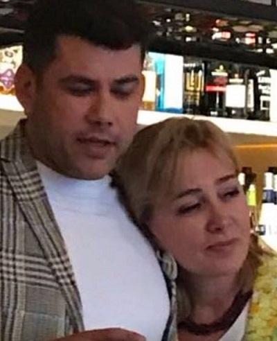Арина Шарапова с сыном