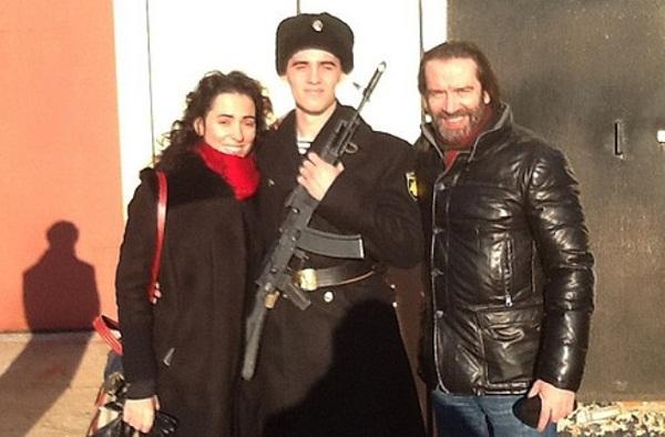 Владимир Машков с третьей женой