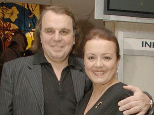 Елена Цыплакова с мужем Павелом Щербаковым