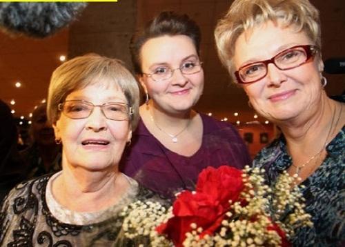 Жена, дочь и внучка Леониа Гайдая