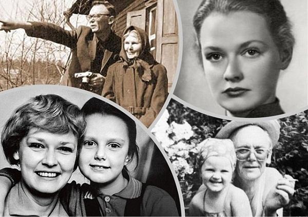 Леонид Гайдай жена и дочь