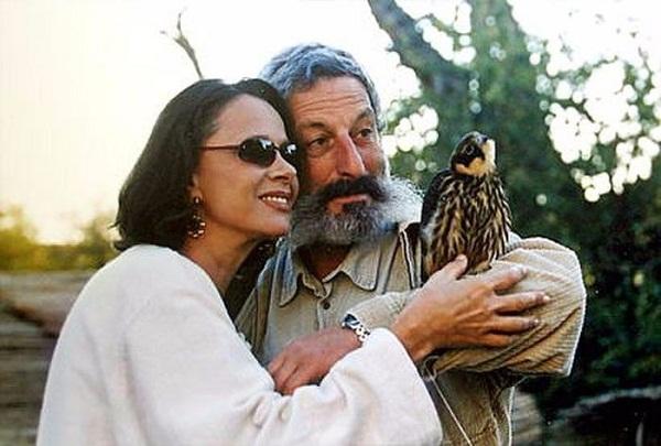 Любовь Полищук со вторым мужем Сергеем Цигалем