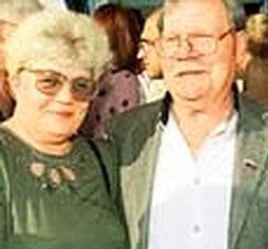 Михаил Пуговкин с третьей женой Ириной Лавровой