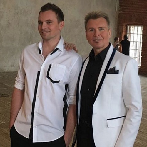 Никита Малинин со своим знаменитым отцом