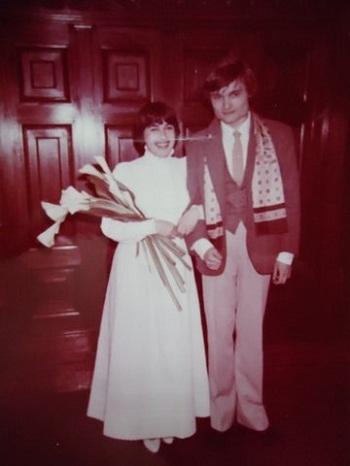 Александр Васильев с женой