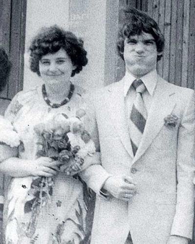 Валерий Гаркалин в молодости с женой фото