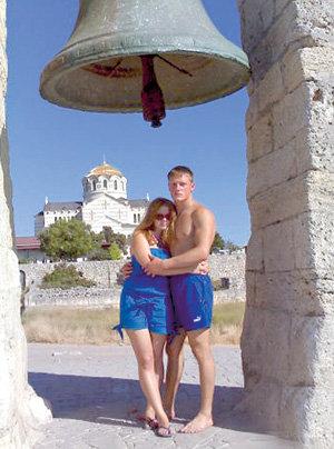 Екатерина Копанова с мужем
