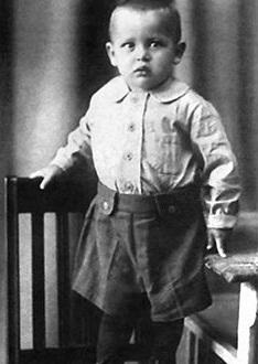 Василий Лановой в детстве