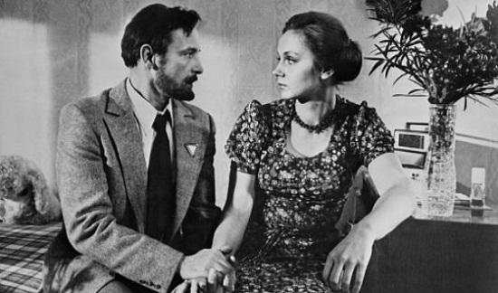 Василий Лановой с третьей женой Ириной Купченко