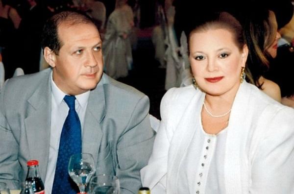 Людмила Сенчина с третьим мужем Владимиром Андреевым