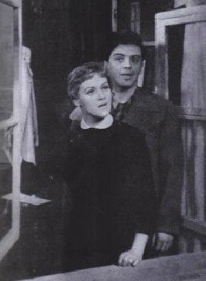 Алиса Фрейндлих с первым мужем Владимиром Карасевым