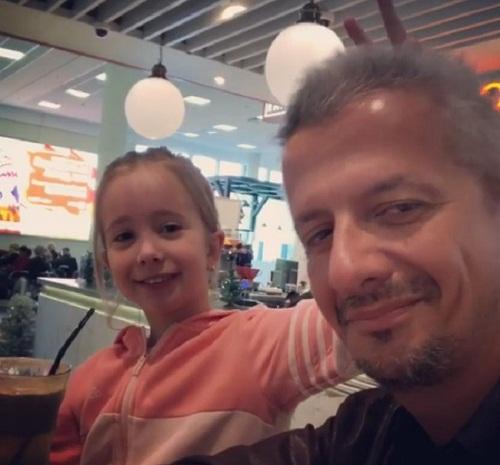 Константин Богомолов с дочерью Анной