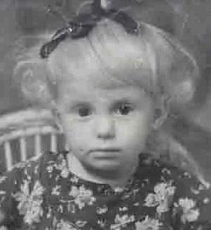 Людмила Сенчина в детстве