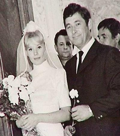 Людмила Сенчина с мужем Вячеславом Тимошиным
