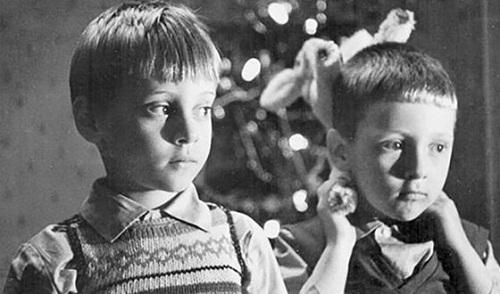 Никита Высоцкий в детстве