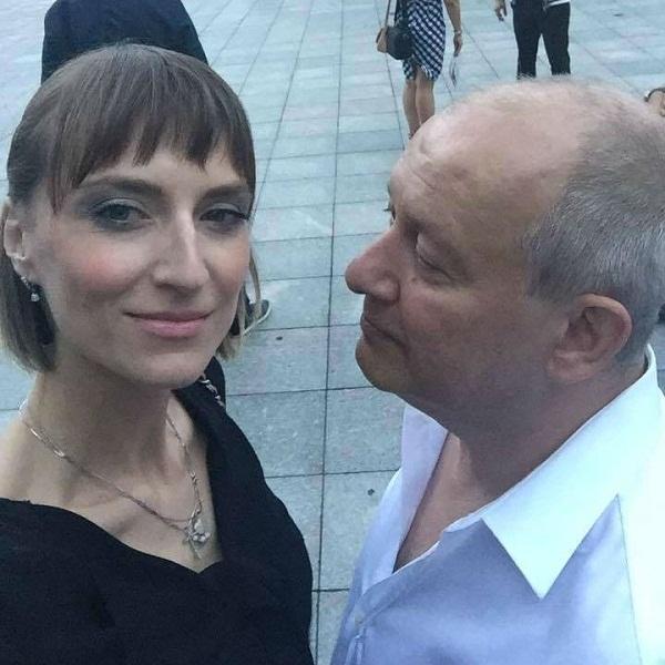 Ксения Бик с мужем