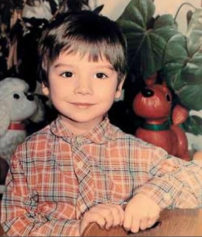 Сергей Лазарев в детстве