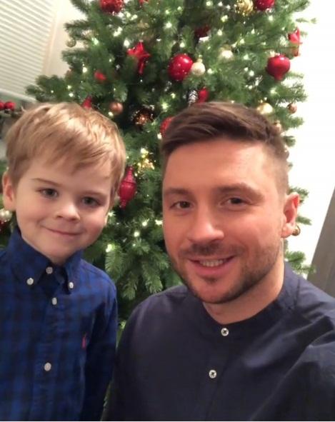 Сергей Лазарев с сыном фото