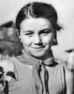Тамара Синявская в детстве фото