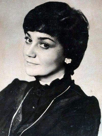 Тамара Синявская в молодости